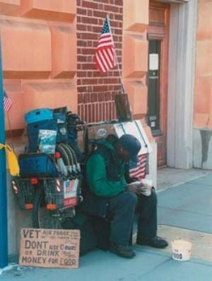 A Homeless Vet