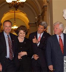 Schumer, Feinstein, Kerry, Kennedy