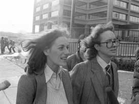 William Ayers and Bernardine Dohrn.