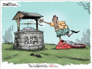 Blame George Bush