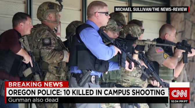 What was the Roseburg, Oregon Shooter's Motivation