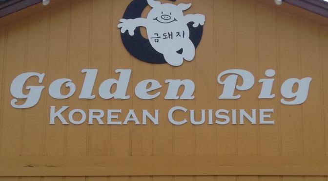 The Golden Pig … Great Korean Food