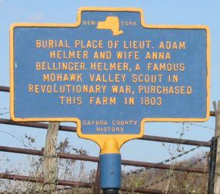 Adam Helmer Mohawk Valley