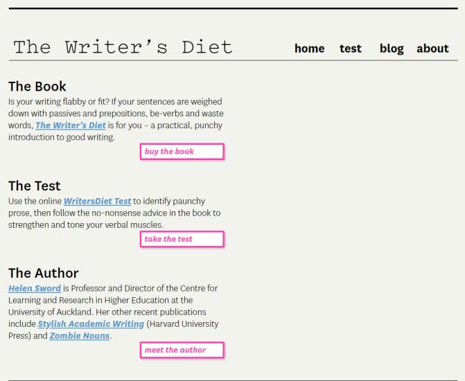 writer's diet