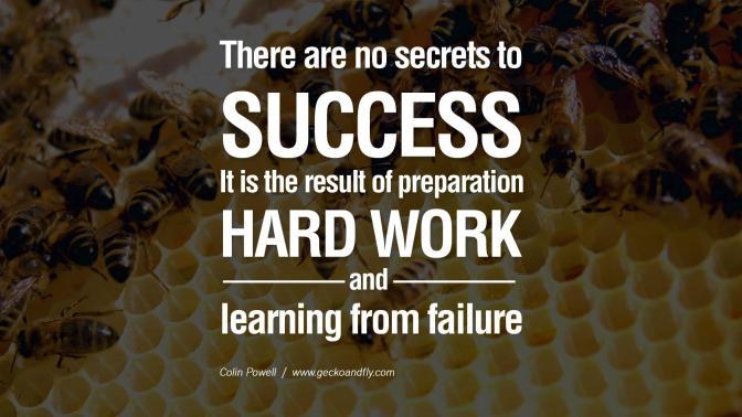 Success Secrets: Measure Twice, Cut Once