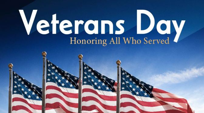 Happy Veterans Day Giveaway: Thank our veterans!