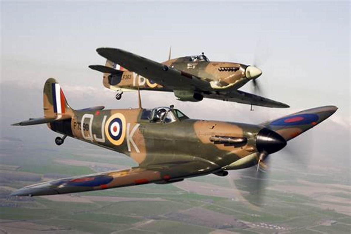 The British Supermarine Spitfire of WW II